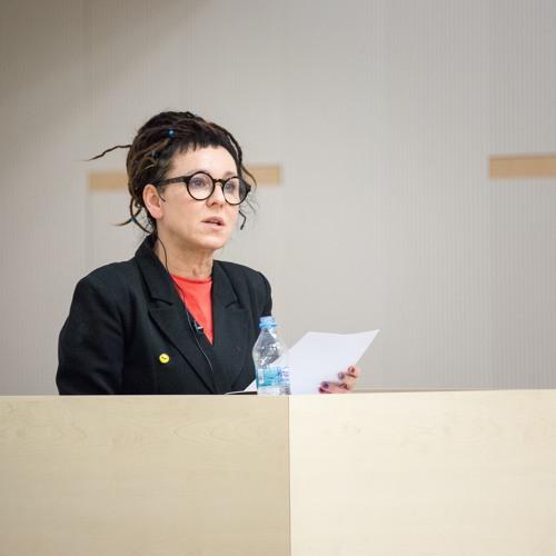 """""""Jak urodziłam Janinę Duszejko?"""" – wykład Olgi Tokarczuk"""