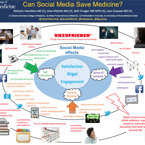 Blue Zones in Medicine: The Role of Social Media - can social media save medicine?