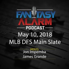 MLB DFS- Plays of the Day
