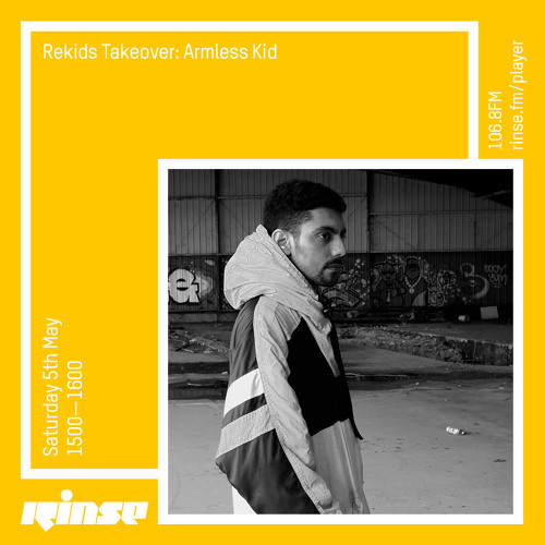 Rekids Takeover: Armless Kid - 5th May 2018