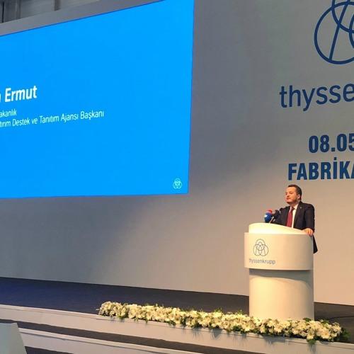 thyssenkrupp Opens Escalator Plant In Turkey