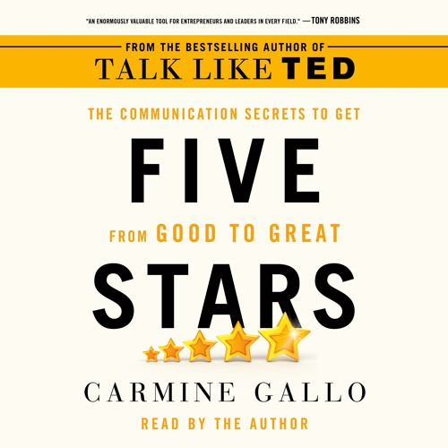 Five Stars by Carmine Gallo, audiobook excerpt