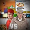 The Pizza Guy Dude vs. The Grumpy Growly Grandpa - Rap Battle!!!