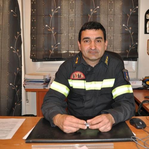 Ο Διοικητής της Π.Υ Αγρινίου Επιπυραγός Στράτος Πετράκης  στον ΑέραFm 99,50