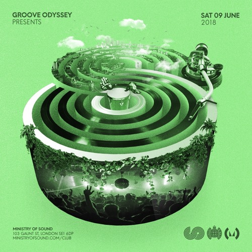 Groove Odyssey @ Ministry of Sound Sat June 9th 2018 radio advert