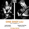 Interview One Shot Lili duo sur Radio Zinzine Cafés-Concerts du 10-05-2018