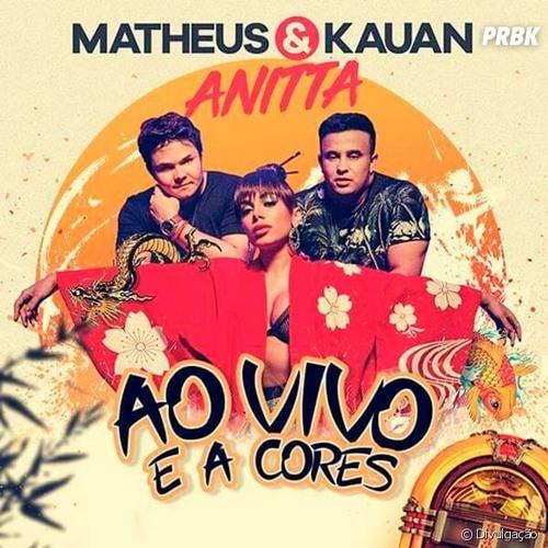 Matheus & Kauan -  E A Cores ft. Anitta