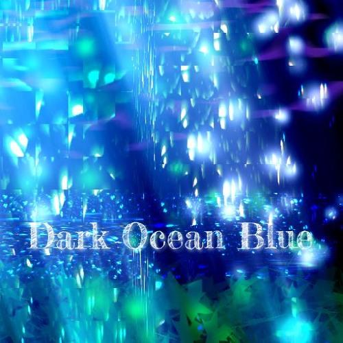 Dark Ocean Blue