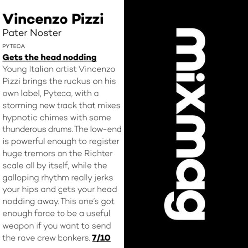 Vincenzo Pizzi - Pater Noster (MIXMAG)