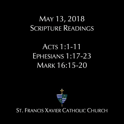 St. Francis Xavier Homily and Scripture Readings May 13, 2018