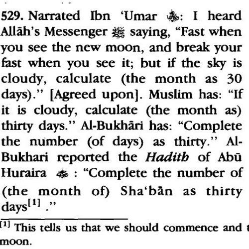 Moon Sighting: Hilal of Ramadan & Hilal of Shawwal – Bulugh al-Marâm | Dr. Saleh as Saleh