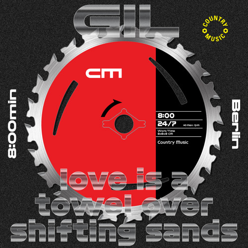 GIL - love is a towel over shifting sands