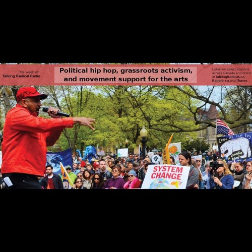 Political hip hop, grassroots activism, and movement support for the arts