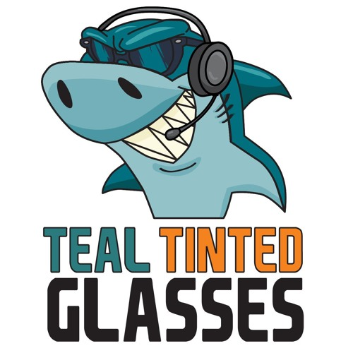 Teal Tinted Glasses 44 - Infinite Shark Realities