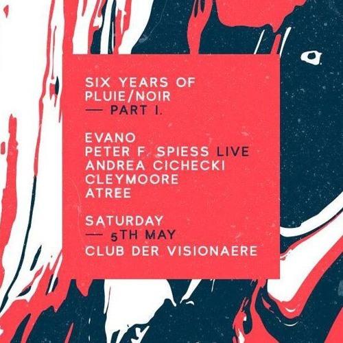 Andrea Cichecki at Club der Visioneare for Pluie Noir -P1 Daytime
