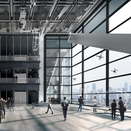 Foster+Partners Designs Unique Drone Firm HQ in Shenzhen
