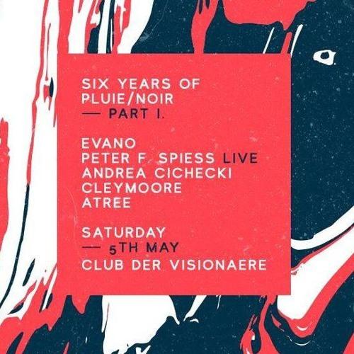 Andrea Cichecki at Club der Visionaere for Pluie Noir - P2 Evening