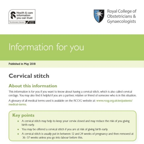 Cervical Stitch