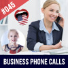 #045 Business English Telephone Calls - How to make a call in English