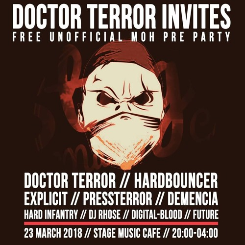PRESSSTERROR MIX@23.3.2018 - Doctor Terror Invites MOH Pre Party