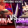 ◤Nightcore◢ ↬ Criminal [Switching Vocals]