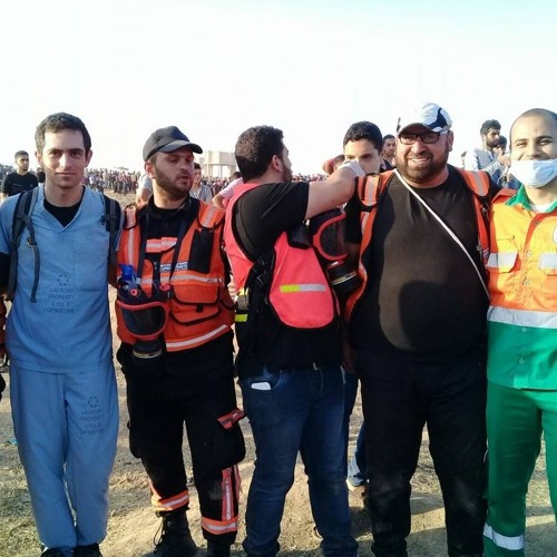 """""""Clearly marked"""" Gaza medics shot by Israeli snipers"""