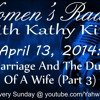 Marriage And The Duty Of A Wife (Part 3)