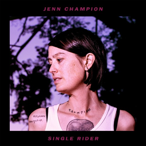 "Jenn Champion - ""Time To Regulate"""