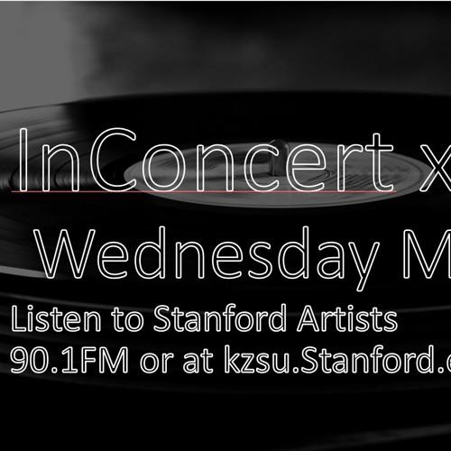 KZSU x InConcert Stanford Artist Showcase 5-16-2018