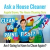 Clean or Paint First? (House Cleaner on a Move Out Cleaning)