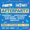 The T Party Afterparty x FREAK at MiNT Club // Friday 15th June
