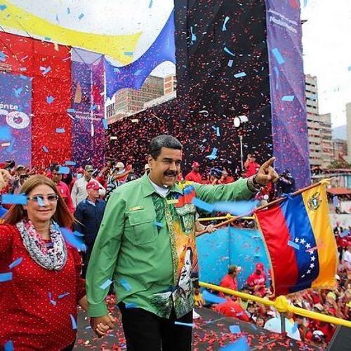 Maduro encerra campanha com 1 milhão de pessoas na ruas