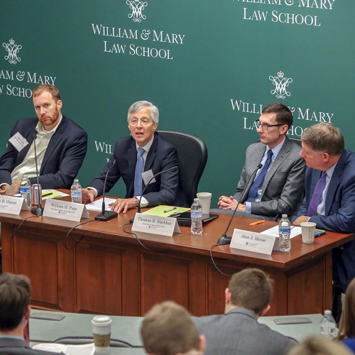 Antitrust and the Constitutional Order (Panel 3)