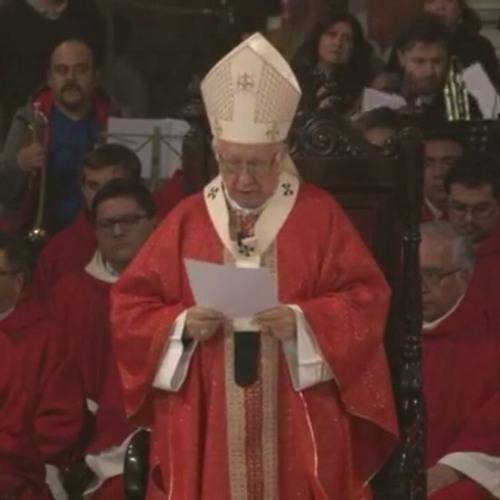 Homilía Misa Inaugural X Sínodo De Santiago