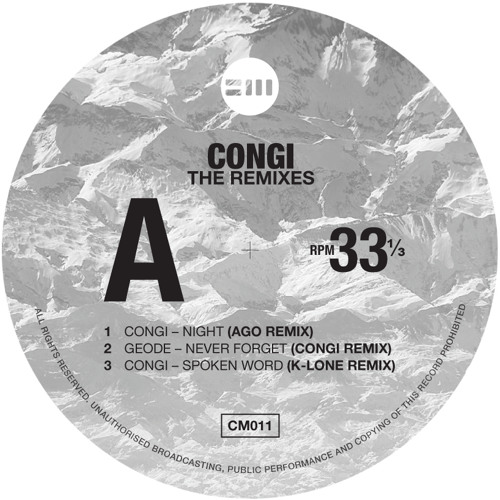 Congi - Spoken Word (K-LONE Remix)Out Now!