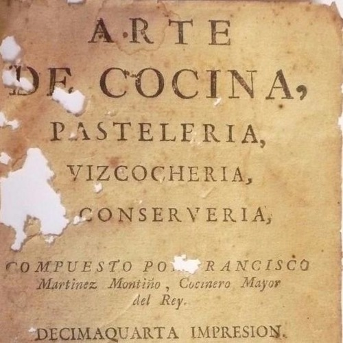 Constructions of Taste in Francisco Martinez Montino's Cookbook