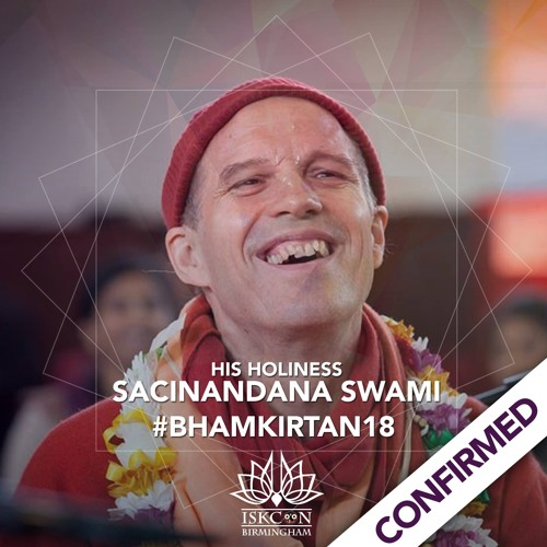 Sacinandana Swami - Birmingham 24 Hour Kirtan 2018