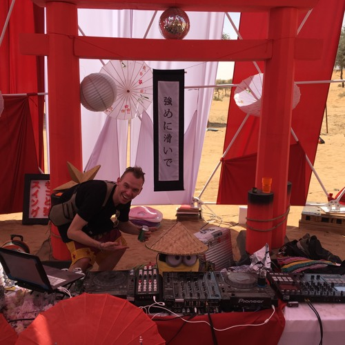 Unders Crate Digging Session @ The Cosmic Swingers Lounge - Bedouin Tech 2018