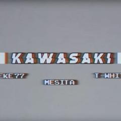 Pekeño 77 X Mesita X T - White - KAWASAKI 🏍