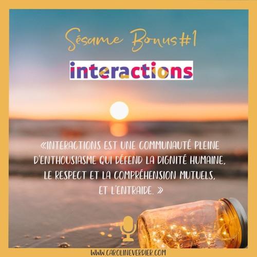 Bonus#1 - Interactions