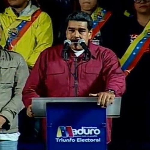 Nicolás Maduro é reeleito presidente da Venezuela com 68% dos votos