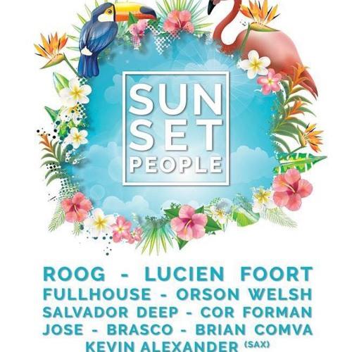 DJ JOSE Live Set @ Sunset People, 20-05-2018, Beachclub People, The Haque