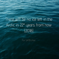 There will be no ice left in the Arctic in 22* years from now