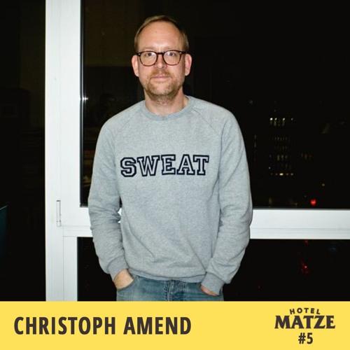 #5 Christoph Amend - Wie kommt man ins ZEITmagazin?