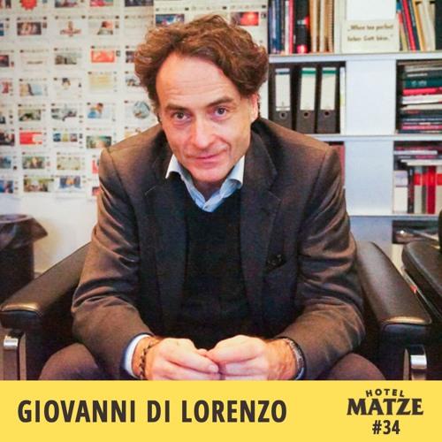 #34 Giovanni di Lorenzo – Wie unterscheidet man das Wichtige vom Unwichtigen?