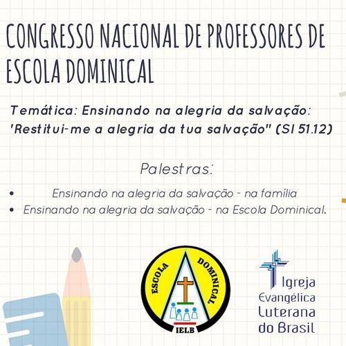 Congresso Nacional de Professores de Escola Dominical da IELB