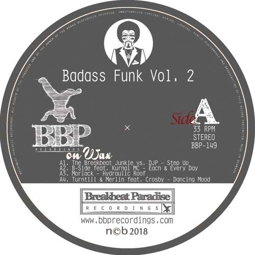 BBP149-A1 The Breakbeat Junkie Vs DJP - Step Up (Preview)
