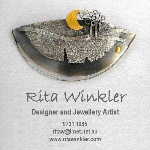Rita Winkler, Designer / Jeweller