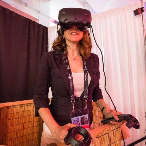 SIFF 2018 - SIFF VR Zone (w. Marco Collins, Kim Voynar, and Nathaniel Pinzon)