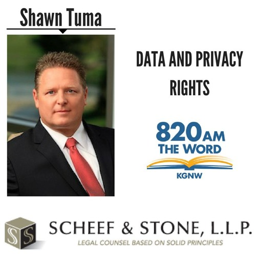 Data and Privacy Rights || Shawn Tuma discusses LIVE (5/22/18)